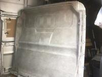 Citroen relay lined and insulated bulkhead