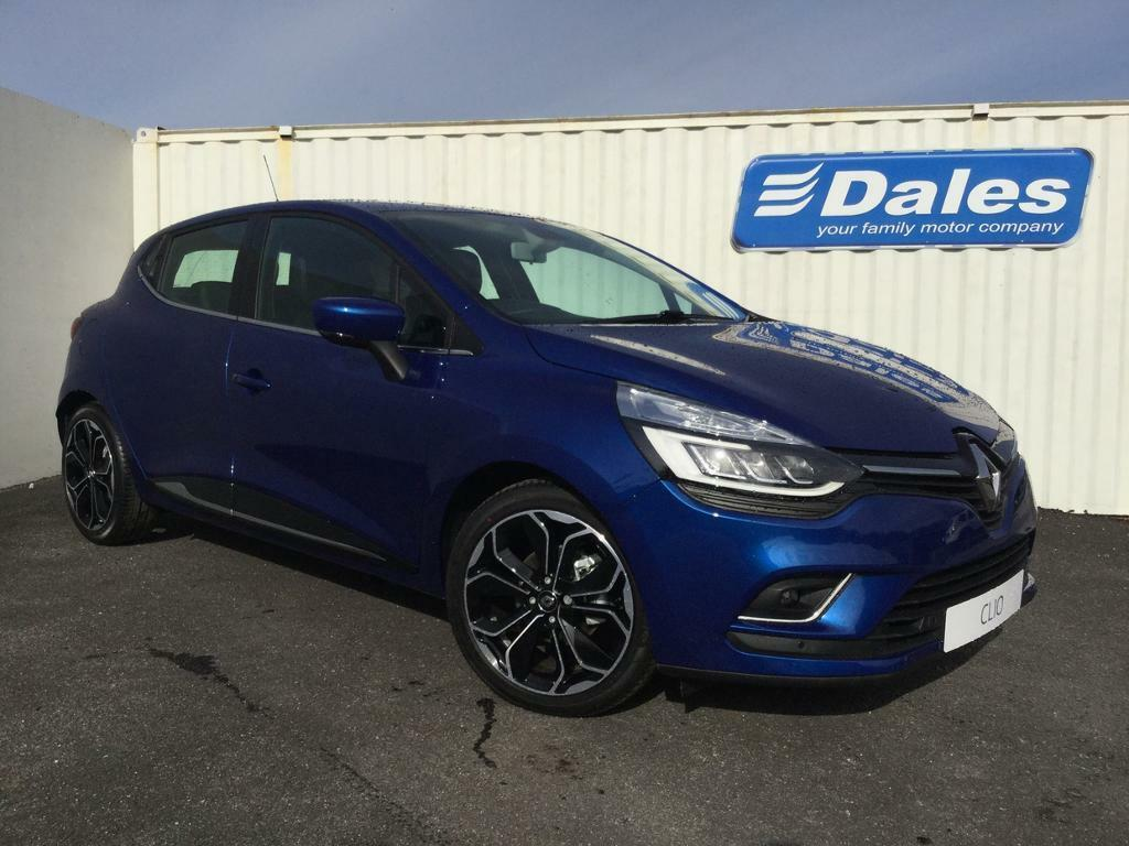 renault clio 1 5 dci 90 dynamique s nav 5dr auto special renault id iron blue 2017 in. Black Bedroom Furniture Sets. Home Design Ideas