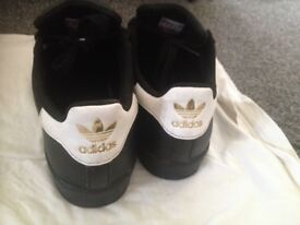 Youth Adidas Superstar trainers