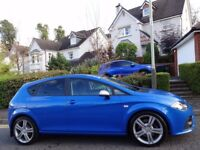 HIGHLY SOUGHT AFTER 💙SPEED BLUE💙 (2009) SEAT LEON FR 2.0 TDi ONE OWNER/ONLY 60K MILES/FSH/9 STAMPS