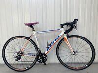 """Kona Zing 105/Tiagra Alu/Carbon Road Bike NEAR NEW!! (21""""/54cm)"""