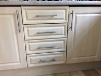 Kitchen cupboard doors and 4 drawers