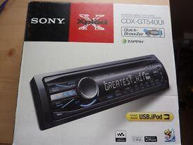 SONY CDX-GT540UI XPLOD CD PLAYER