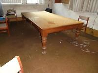Dining room table or Board room table