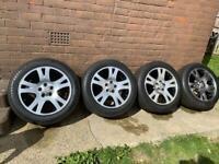 """Range Rover 19"""" alloy wheels vw transporter"""