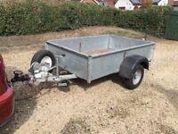 Trailer with 1 tonne load capacity