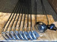 Golf Set: Ping Driver, MacGregor Irons and Blueball putter - plus free golf bag!
