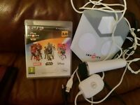 PS3 Disney Infinity 3.0 game and portal + Microphone