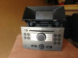 Vauxhall Astra H 54 reg stereo and screen