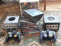 Nintendo Gamecube bundle, 2 x Gamecubes + games