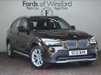 BMW X1 XDRIVE 23D SE 5DR (brown) 2012