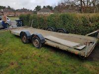 Car tilt trailer