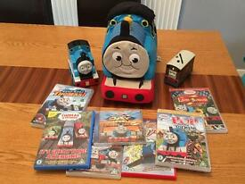 Thomas and friends DVD, CD & toy bundle