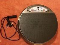 Vibrapower vibrating exercise disc with remote control