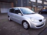 7 SEATER RENAULT GRAND SCENIC 1.6 MANUAL IN GREAT CONDITION. LONG MOT. SERVICE HISTORY. HPI CLEAR