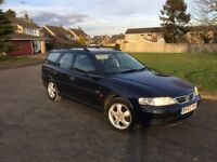 02 Vauxhall vectra 1.8sxi estate 11 mot very good condition £595