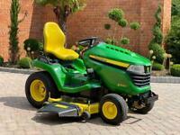 """John Deere X590 Ride on mower - 54"""" deck - Mulch - lawnmower - Honda / Kubota"""
