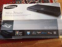 New Samsung smart Blu-ray player