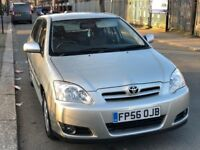 2007 Toyota Corolla 1.6 Automatic with full service histroy and mot 5doorhatch back