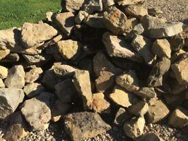HAM STONE / feature stones /garden project/verge edging/rockery