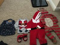 Novelty Christmas baby clothes 3-6 months