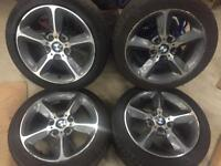 New model BMW 1 series alloy wheels 17inch
