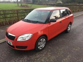 Skoda Fabia 1.2 petrol manual estate 2008 only 34k