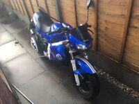 gilera DNA road bike scooter 50cc rev n go petrol 2 stroke oil electric start and kickstart