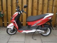 SYM jet 4 R 50cc scooter for sale