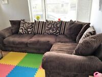 ++++Harveys L shaped sofa for sale - Left Facing - includes 10 cushions!++++