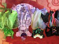 Genuine Disneystore Princess Sofia and Tinkerbell, Mermaid, witch costume, tiara