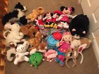 Soft toy/ accessory bundle