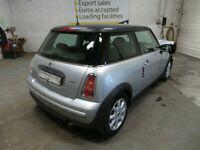 2002 Mini One R50 3 Door Hatch Engine W10B16A Front Bumper Door Mirror Parcel Shelf Alloy Wheel Seat