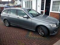 Mercedes c class estate Sports auto FULL loaded swap part ex