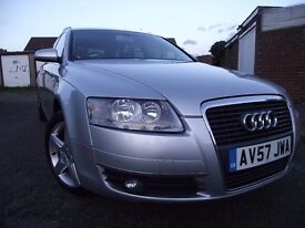 @ AUDI A6 @ SAT NAV @ ESTATE/AVANT @ AUTOMATIC @ 2.0 DIESEL FULL SERVICE HISTORY CAMBELT CHANGED px