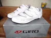 GIRO SOLARA LADIES CYCLE ROAD SHOE SIZE 38 BOXED NEW see details