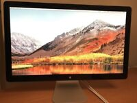 """Apple 27"""" Thunderbolt Widescreen LED Display with built in Speakers A1407 AST105"""