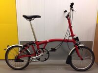 BROMPTON FOLDING BIKE M3L 3 SPEED