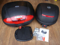 Givi top boxes and fitting kit