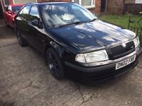 Skoda Octavia VRS 1.8 20V T. (Excellent throughout.)