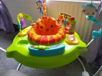 Fisher price jumperoo fab condition