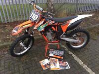 Ktm sxf 250 factory efi vgc with original folder pos px trials enduro Mx Crf Yzf rmz kxf