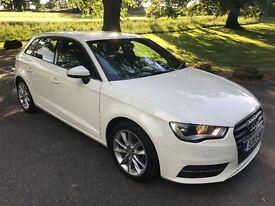 2013 Audi A3 1.6tdi (105ps) Sports back sports set nerve alloys climate white