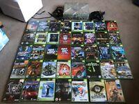 Xbox console & 39 games
