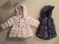 NEXT Coat and Gillet, age 3-6mnths