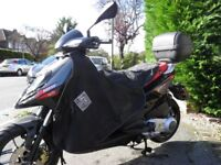 Aprilia SR125 Motard, 2015 '65 reg. Black/red 7,580 miles