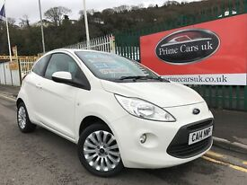 2014 14 Ford KA 1.2 Zetec 3dr Petrol 5 Speed Manual Low Miles