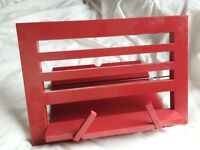 Foldable Reading Rest (Red)