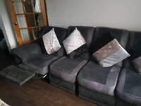 Large corner unit couch