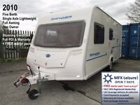 2010 BAILEY RANGER 500/5 – LIGHT 5 BERTH – AWNING – REAR DINETTE/BEDROOM OPTIONAL FIXED BED - A1